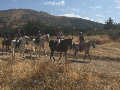 Horse Ride Around Cañada Real 1 hour