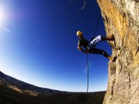 Take on multipitch abseils