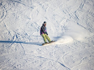 2-hour Snowboarding Lesson for Groups, Espot