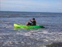 Having a paddle