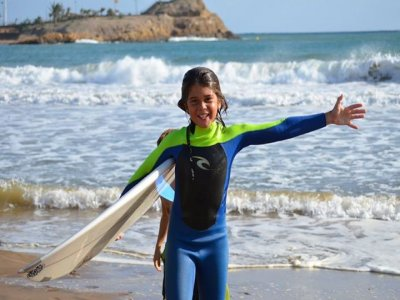 1h Renting of surf equipment in Mazarrón