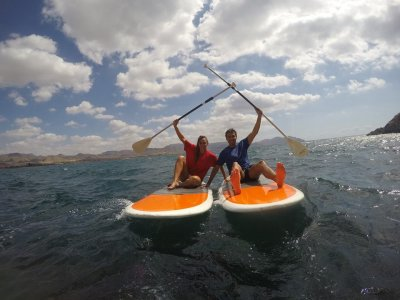 Paddle surf course for beginners, Puerto Mazarrón