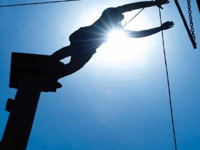 Kingswood Dukeshouse Wood Activity Centre High Ropes