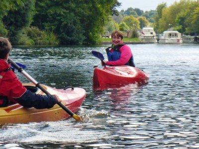 BCU Canoe Beginner´s Star 1 Course Surrey
