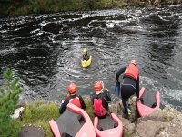 Hydrospeeding with one of our instructors!