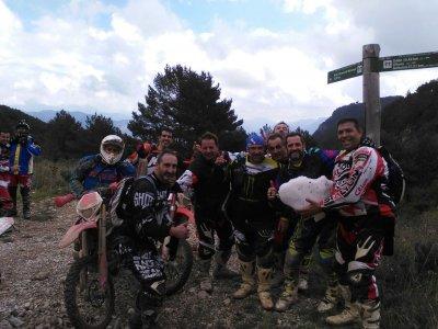 Enduro route in Pirineos for 6 days