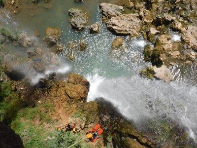Canyoning Gorgo de Las Escalera in Anna