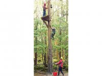 Highropes are great fun (picture not taken from Dearne Valley)