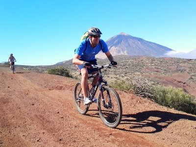 Bike tour 30 miles in Teide National Park