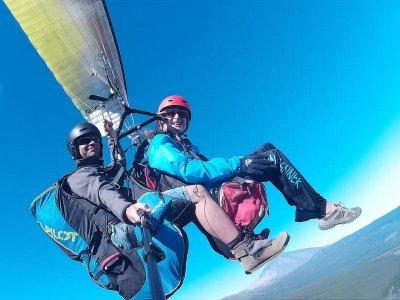 Paragliding from Izaña, Tenerife