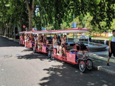 Beer Bike tour Madrid 1 L Beer or Sangria