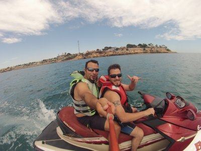 Jet ski excursion 2h 30 min