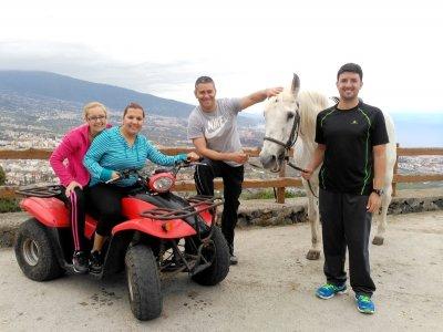 Horse Riding + Quad in La Orotava For Residents