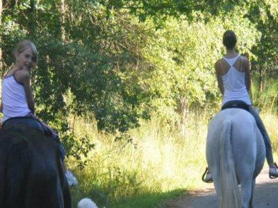 Horse riding session, Orense, Children12 to 16
