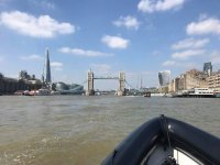 The London Tower with Thames Rib Charter!