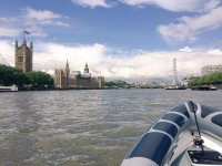 The Parliament with Thames Rib Charter!
