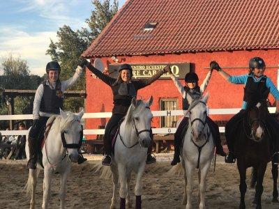 10 Horseback Riding Classes Voucher in Segovia