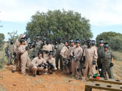 Team building with paintball in Cuenca
