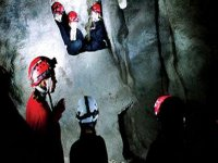 Caving is another fun thing to do.