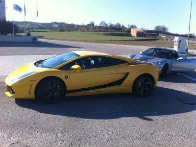 Drive a Lamborghini in Barcelona 7km