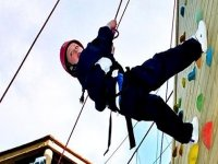 Abseiling is also available.