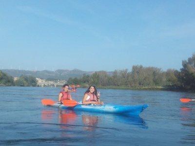 Kayaking from Vinebre to Mora, schools, under 14