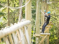 High ropes at Kingswood Staffordshire Outdoor Activity Centre