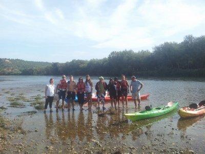 Kayak ride from Vinebre to Mora, schools, 14+