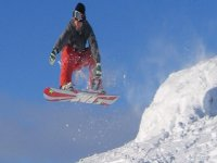 Snowboarding is a great activity.
