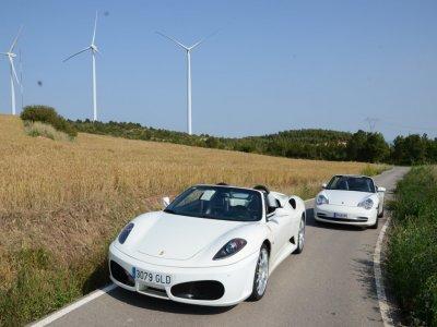 Drive a Ferrari and Porsche Barcelona, 9 miles