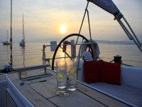 Enjoy a G&T sunset!