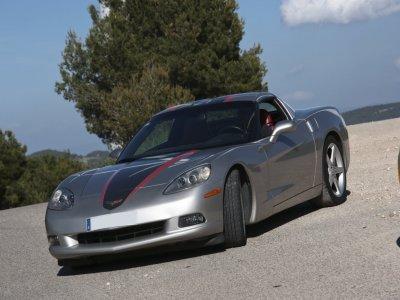 Drive a Corvette in Barcelona 12 miles