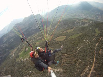 Paragliding and climbing pack on the Pyrenees