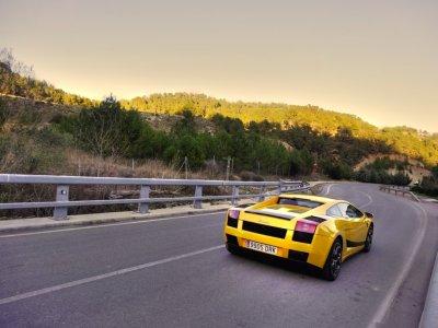 Drive Lamborghini Barcelona 4 miles