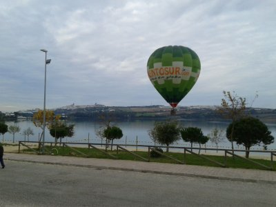 Balloon ride in Cádiz Exclusive for couples