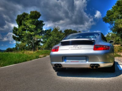 Try a Porsche in Barcelona, 12 miles
