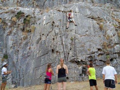 Starting climbing course, Benaocaz