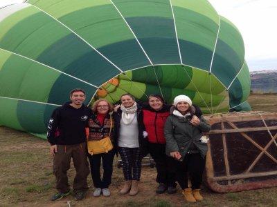 3h balloon ride+breakfast in Arcos de la Frontera