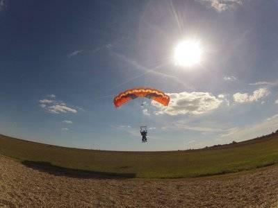 Tandem Parachuting Cádiz External DVD and Photos