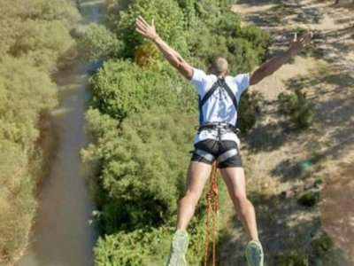 Bungee jumping in Cadiz+pictures