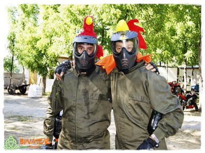 Paintball game in Ponferrada 100 balls included