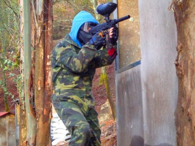 Paintball round with 100 balls in Pardavila