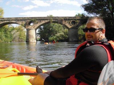 Kayak ride in Ebro La Rioja 2h