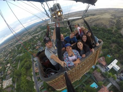 A Ride on Balloon,Segovia,Weekends/Bank Days