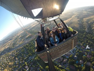 A Ride on Balloon, Weekends/Bank Days Guadarrama