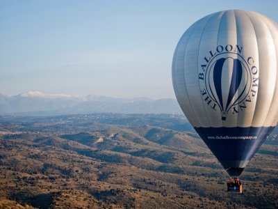 A ride on a balloon for 2, Guadarrama