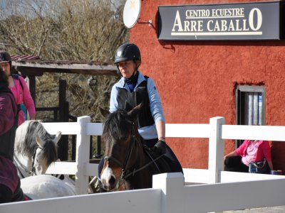 Horse-riding lessons and tour, Cañada Real