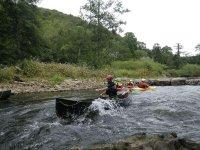 Canoe club trip.