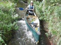 A fun trip taken with the canoe club.