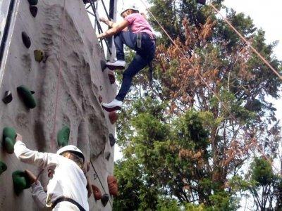 Shadwell Basin Outdoor Activity Centre Climbing